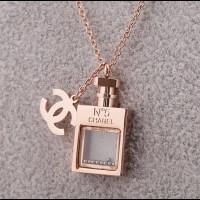 """CHANEL  Лого - кулон на цепочке """"Chanel N5"""""""